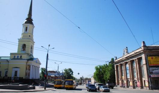 Есть повод: первый светофор в Ижевске установили на перекрестке улиц М.Горького и Советской