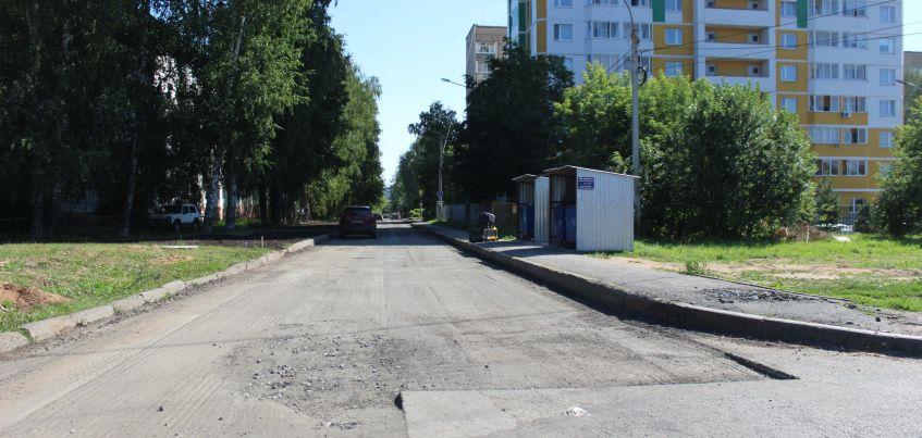 Ремонт на улицах 5-я и 6-я Подлесные стартовал в Ижевске