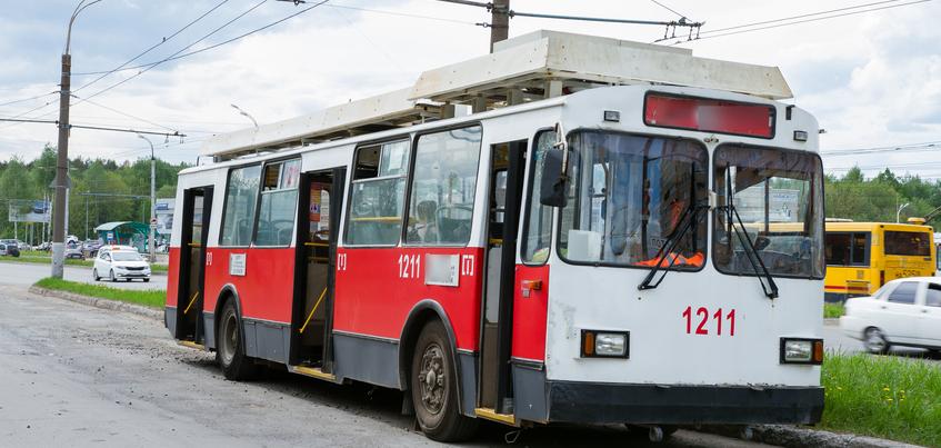 Движение троллейбусов ограничат в Ижевске