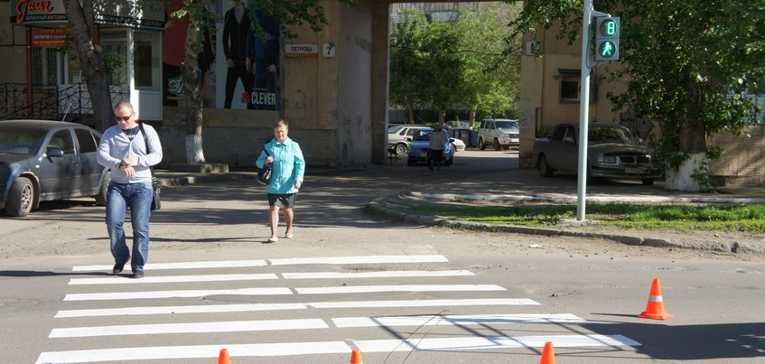 29 пешеходов погибли в Удмуртии за семь месяцев
