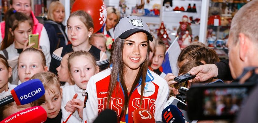 Олимпийская чемпионка из Ижевска Алина Загитова представит новую программу