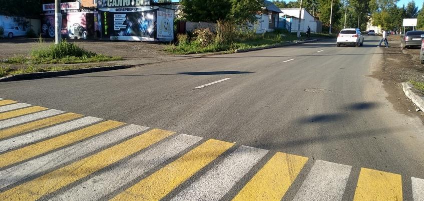 Ремонт улицы Баранова завершили в Ижевске
