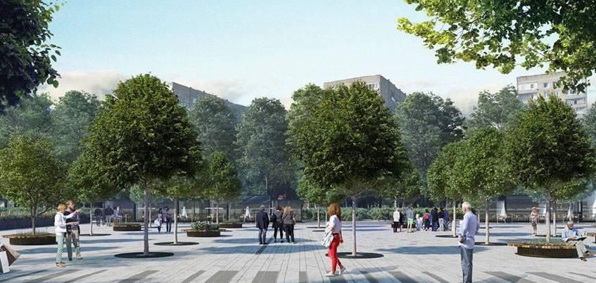 Давайте обсудим: нужна ли парковка на Центральной площади в Ижевске?