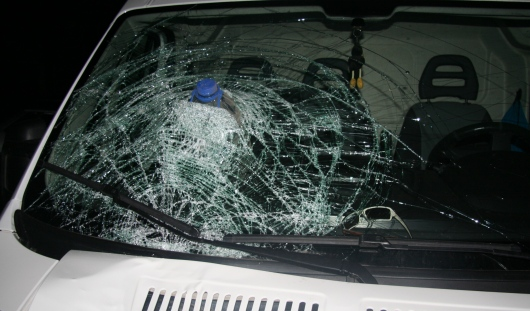 На трассе Ижевск-Можга водитель микроавтобуса насмерть сбил пешехода