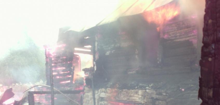 Мужчина погиб в результате пожара в Удмуртии