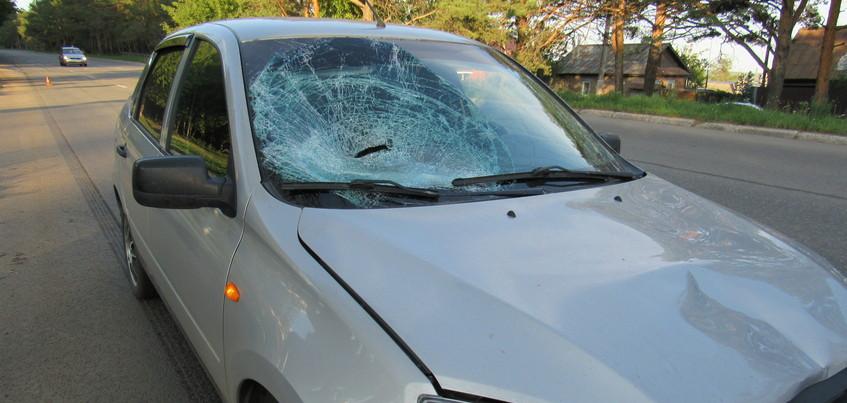 Сбивший ребенка на улице Камбарской в Ижевске водитель превысил скорость