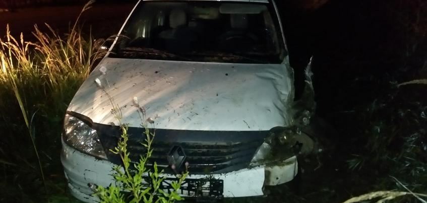 Нетрезвый водитель иномарки врезался в автобус в Удмуртии