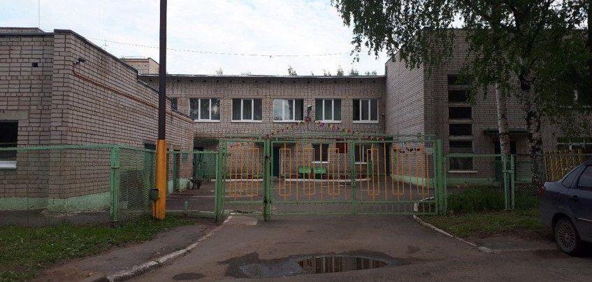 Ремонт крыши начался в детском саду №245 в Ижевске