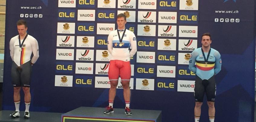 Велогонщик из Ижевска победил на чемпионате Европы