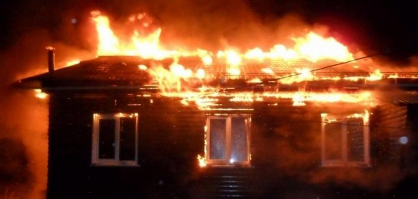 Житель Удмуртии погиб в результата пожара в общежитии