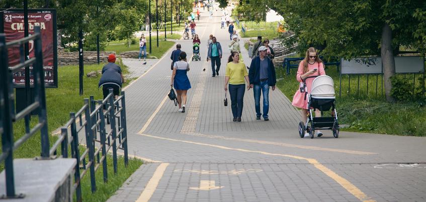Ряд тротуаров отремонтируют в центре Ижевска