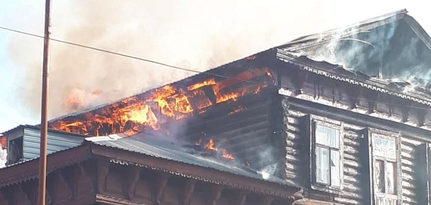 Два человека погибли в результате пожара в Удмуртии