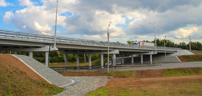 В Удмуртии завершился ремонт трех мостов  и путепровода