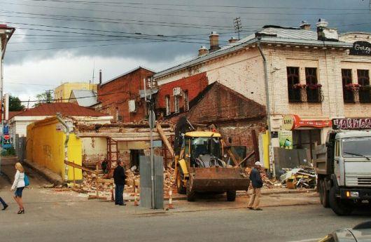 В Ижевске прокуратура проверяет законность сноса дома на улице Горького