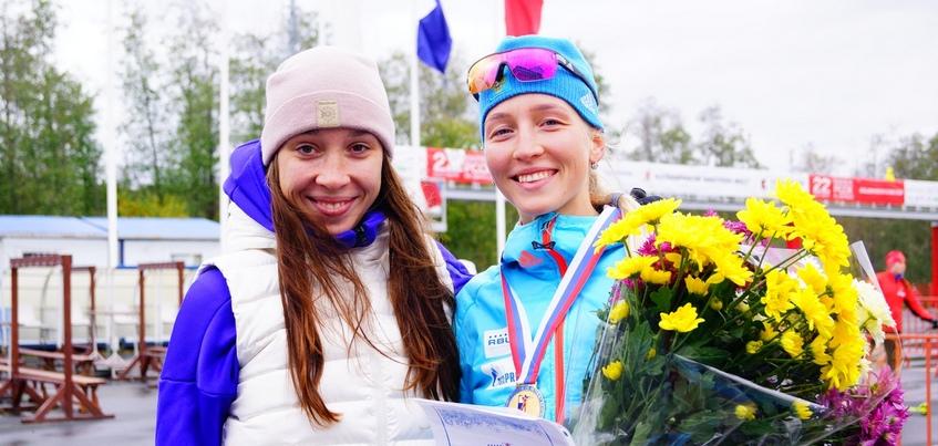 Биатлонистка из Удмуртии стала чемпионкой России среди юниоров