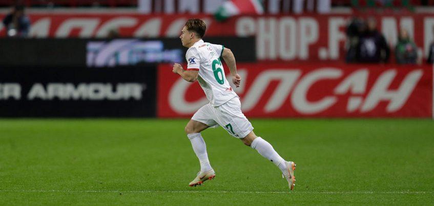 Футболист из Ижевска дебютировал в Премьер-лиге
