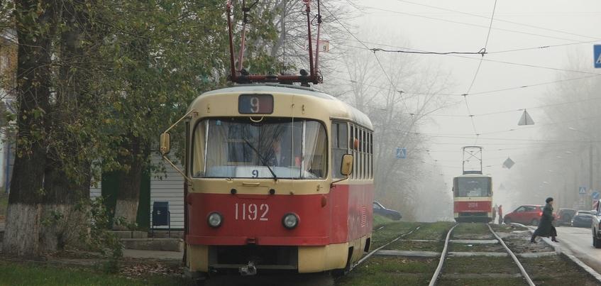 Движение трамваев в сторону городка Металлургов прервано в Ижевске