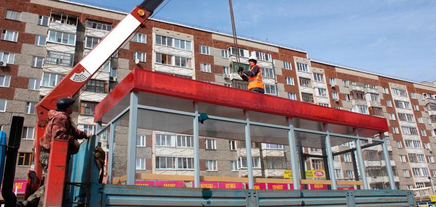 Четыре новые остановки установили в Ижевске