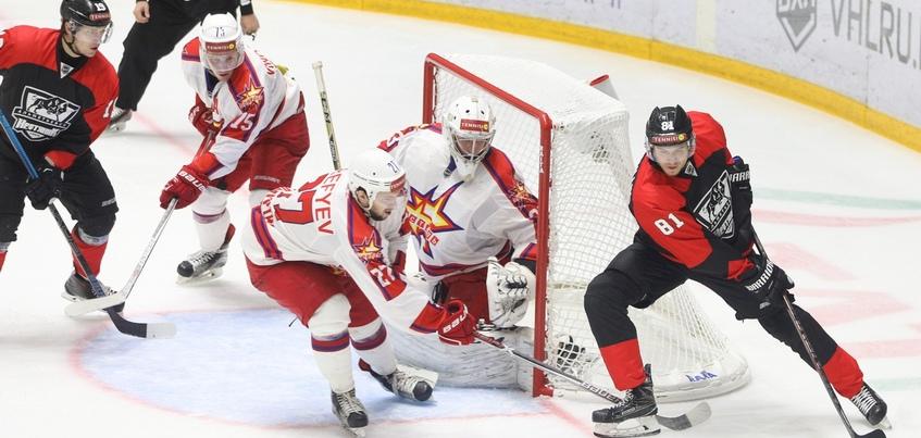 Хоккеисты «Ижстали» уступили в Альметьевске