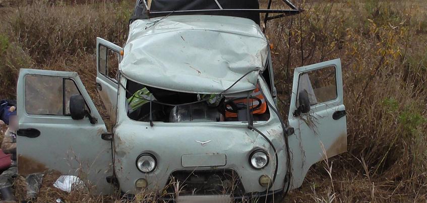 Пассажир пьяного водителя погиб в ДТП в Удмуртии