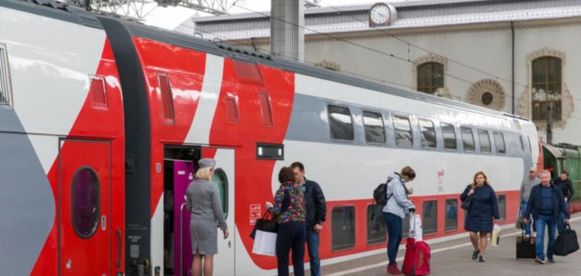«Вам на второй»: чем двухэтажные поезда на маршруте Ижевск – Москва будут отличаться от обычных?