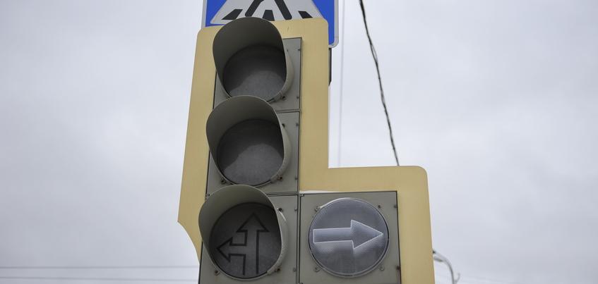 Три перекрестка в Ижевске оборудуют новыми светофорами