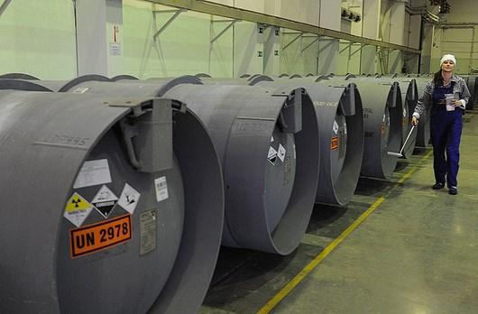 Россия обеспечена урановым сырьем на 100 лет вперед