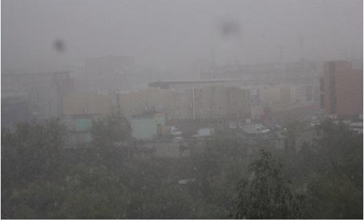 В Ижевске вновь объявлено штормовое предупреждение