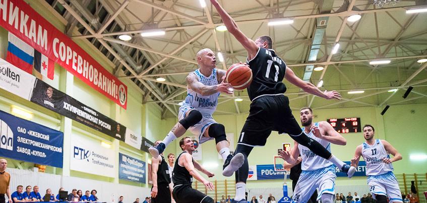 Баскетбольные «Родники» проиграли клубу из Ревды в Ижевске