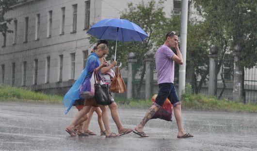 Грозы возможны в Ижевске до конца дня