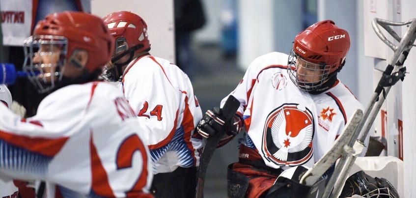 Следж-хоккеисты «Удмуртии» забросили 16 безответных шайб на чемпионате России