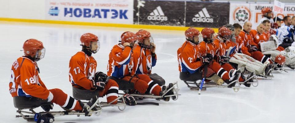 Следж-хоккеисты «Удмуртии» стали 4-ми на чемпионате России