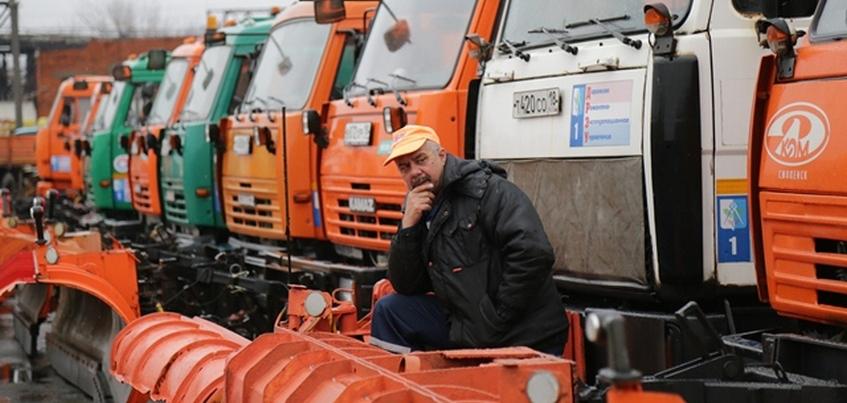 Коммунальная техника Ижевска готова к зиме на 70%