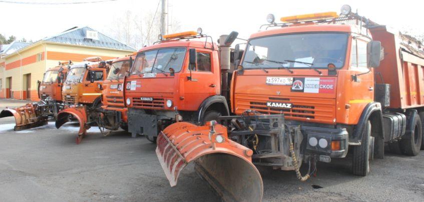 430 единиц техники будут чистить дороги Удмуртии зимой