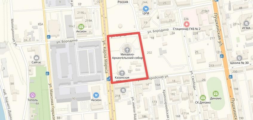 Движение транспорта ограничат в центре Ижевска 4 ноября