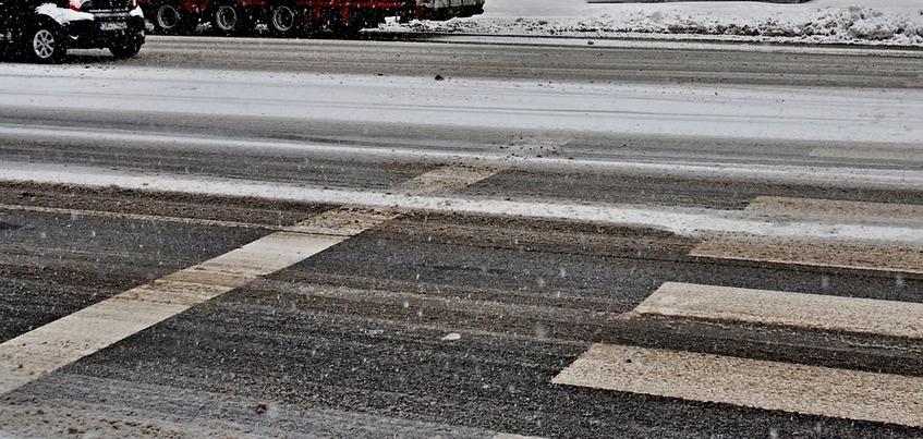 Гололедица и накат: водителей Ижевска предупредили об ухудшении дорожных условий