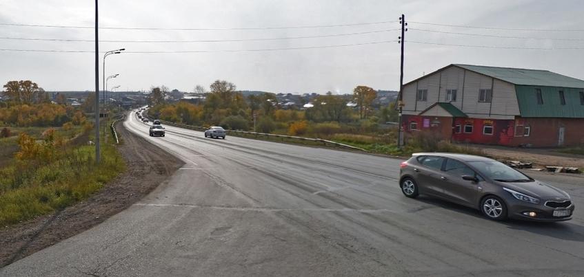 Мост через Пироговку на выезде из Ижевска сдадут до конца года