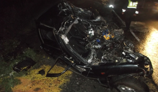 В Малопургинском районе лоб в лоб столкнулись «Шевроле Нива» и фура «Даф»