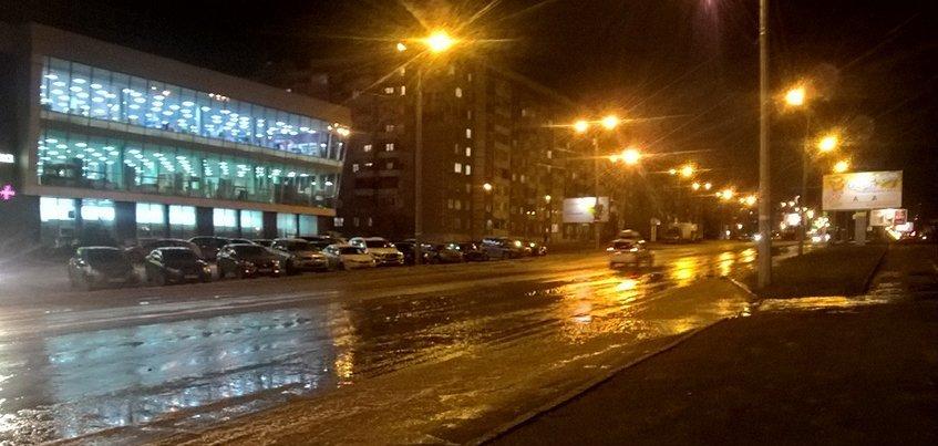 Поврежденный трубопровод на улице 10 лет Октября в Ижевске планируют восстановить 13 ноября