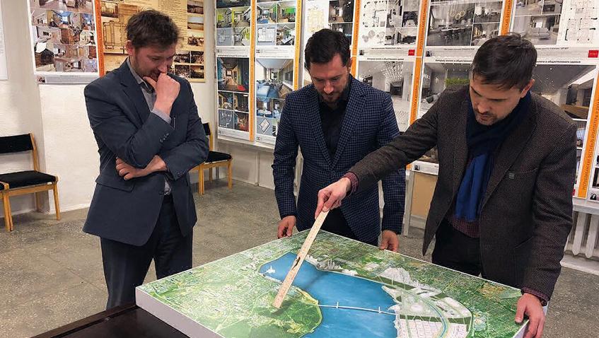 Жители Ижевска поддержали строительство моста через пруд в «Строитель»