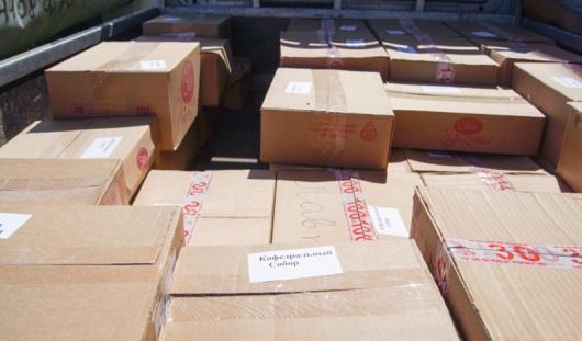 32 тонны гуманитарной помощи отправила Удмуртия в Крым за этот год