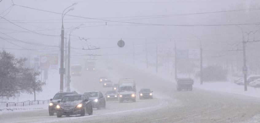 Ухудшение видимости ожидают на дорогах Удмуртии