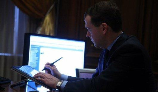 «Твиттер» Медведева взломали хакеры