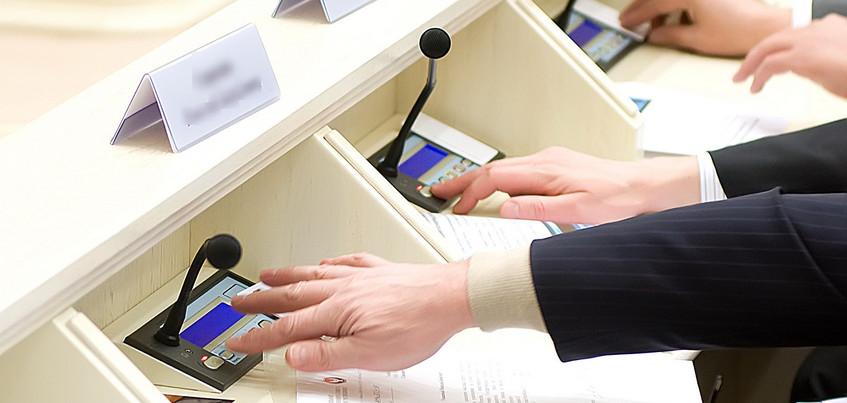 Бюджет Удмуртии на 2019 году принят в первом чтении с профицитом почти в 1 млрд рублей