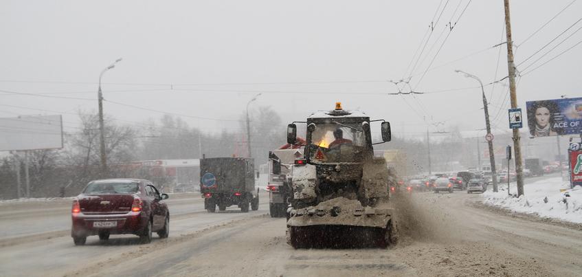 4000 тонн снега вывезли с улиц Ижевска за неделю
