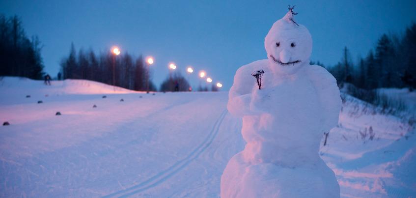 Погода в Ижевске: потепление до -5°С и небольшой снег