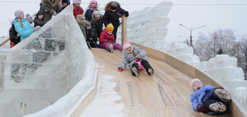 Снежки, горки и дискотека: в фан-зоне Ижевска откроют развлекательный городок