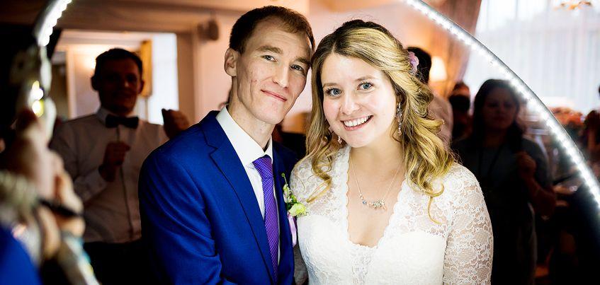 Ижевские молодожены: согласилась выйти замуж со 2-го раза