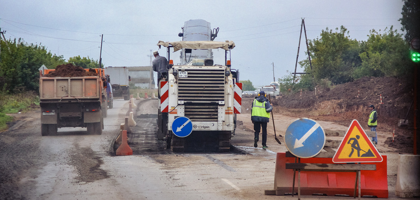 Свыше 900 км дорог планируют отремонтировать в Удмуртии за 6 лет