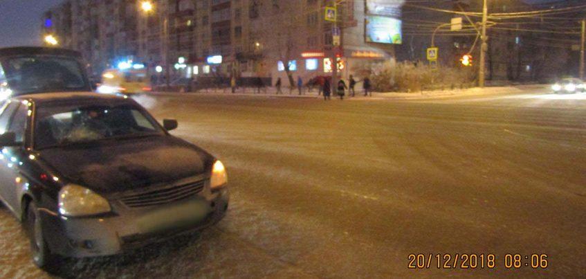 Пенсионерку сбили на улице Удмуртской в Ижевске